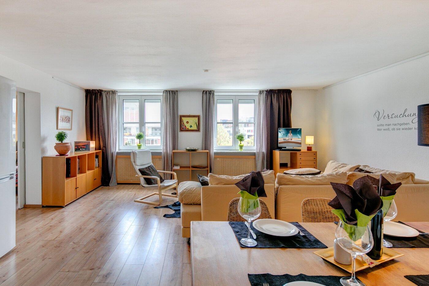 2 camere appartamento ammobiliato lavatrice nell 39 appartamento monaco maxvorstadt 9733. Black Bedroom Furniture Sets. Home Design Ideas